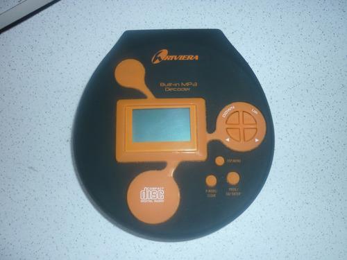 discman - cd player marca riviera
