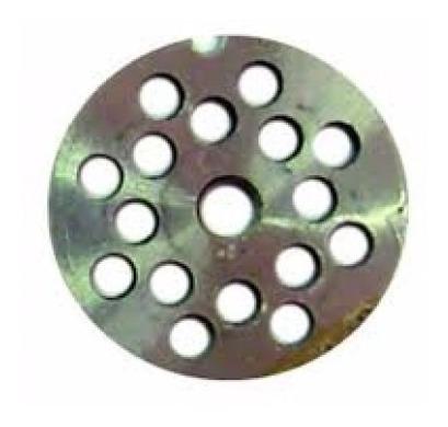 disco 10mm para maquina de moer carne moedor picador boca 05