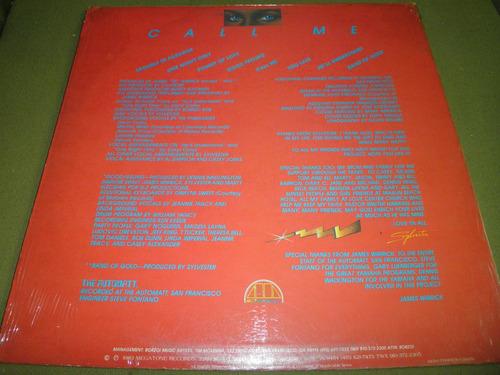 disco 12'' en vinyl importado de sylvester - call me (1983)