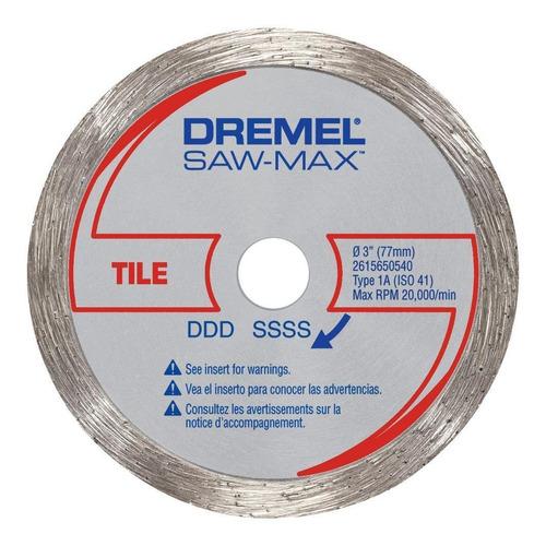 disco 3'' sawmax baldosa/porcelanato dremel sm540