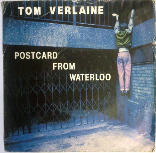 disco 45 rpm años 80 tom verlaine postcard from waterloo