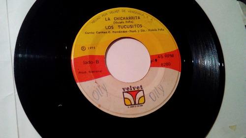disco 45 rpm de los tucusitos 1975