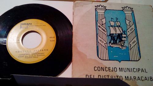 disco 45 rpm del imgra gaitas 1971 y 72.