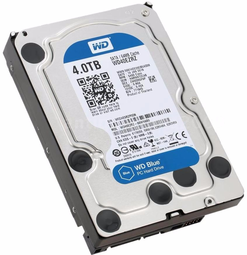 Disco 4tb Western Digital Caviar Blue Sata 3 64 Mb