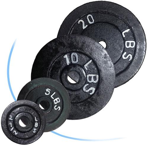 disco 5lbs mancuernas pesas barras kit pesas