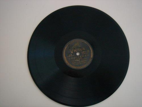 disco 78 rpm - aracy de almeida - victor 34.864