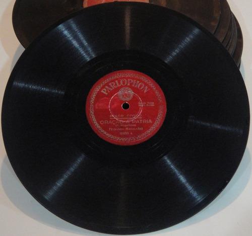 disco 78 rpm - fernando magalhaes e olegário mariano 12.853