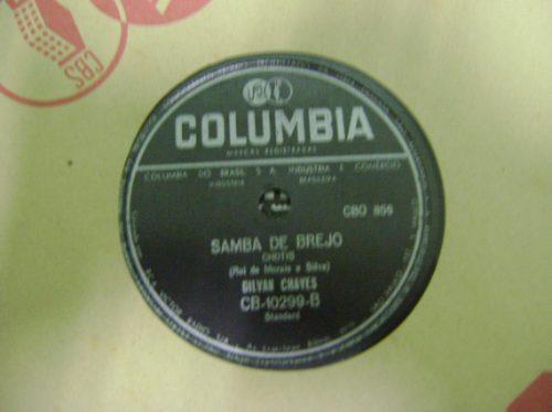 disco 78 rpm gilvan chaves - raro