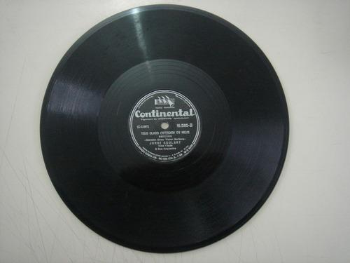 disco 78 rpm - jorge goulart - continental 16.585