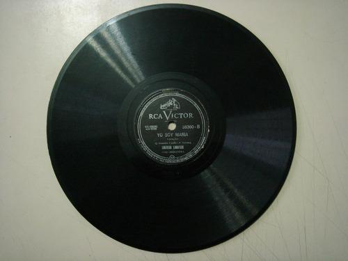 disco 78 rpm - libertad lamarque - victor 38.360