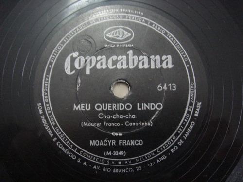 disco 78 rpm - moacyr franco - copacaba 6.413
