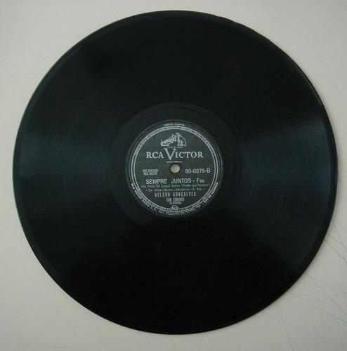 disco 78 rpm - nelson gonçalves- victor80-0275