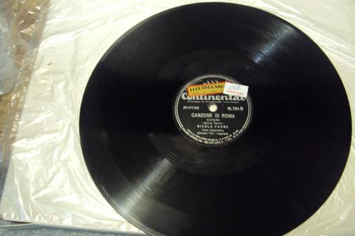 disco 78 rpm nicola paone