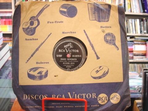 disco 78 rpm - os cariocas - o último beijo