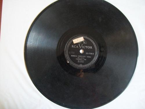 disco 78 rpm palmeira e biá .