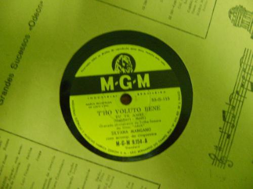 disco 78 rpm silvana mangano