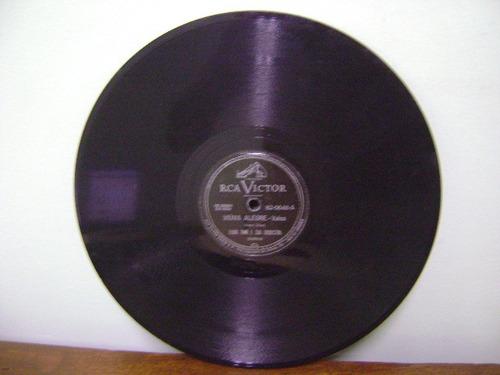 disco 78 rpm viúva alegre henri rené