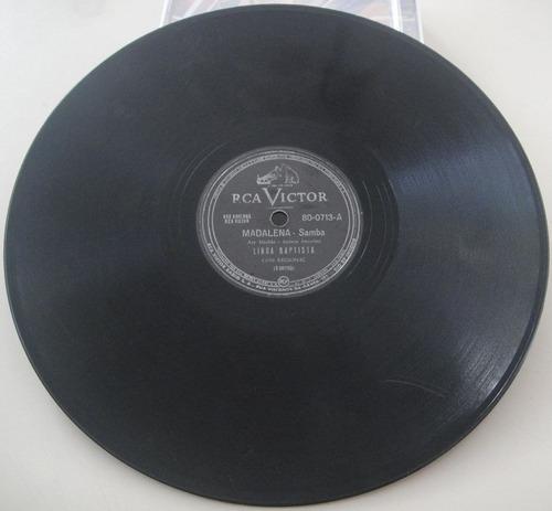 disco 78rpm - linda batista - victor 800713