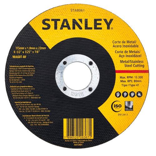 disco abrasivo sta8061 stanley