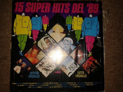 disco acetato: 15 superhits del 89