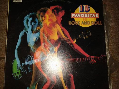 disco acetato: 16 favoritas del rock & roll