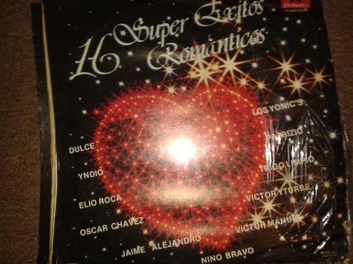 disco acetato: 16 super exitos romanticos