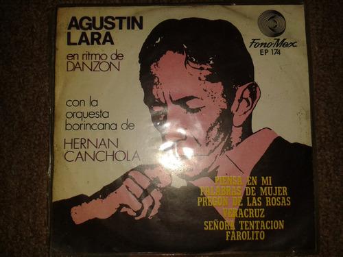 disco acetato 45 rpm de: agustin lara