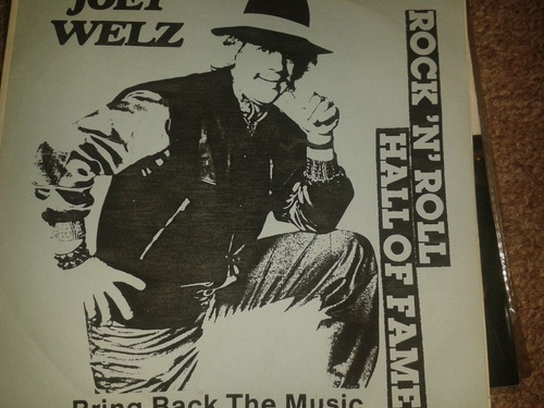 disco acetato 45 rpm de: joey welz