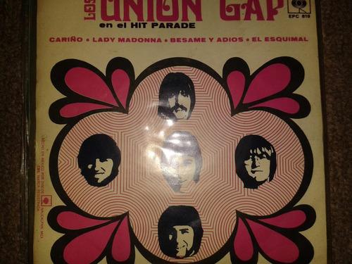 disco acetato 45 rpm de: los union gap