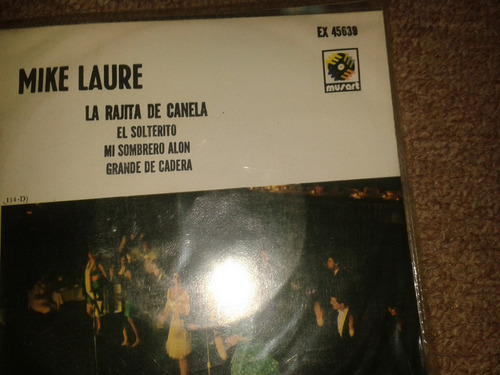 disco acetato 45 rpm de: mike laure