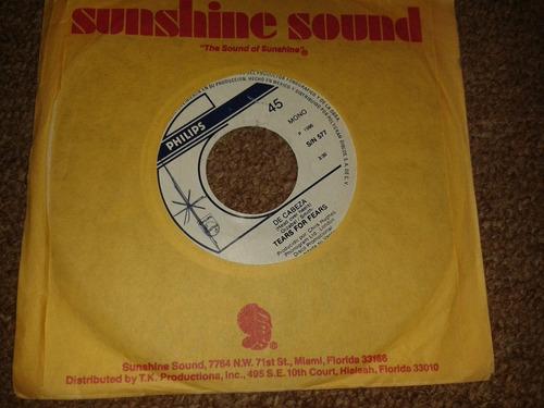 disco acetato 45 rpm de: tears for fears