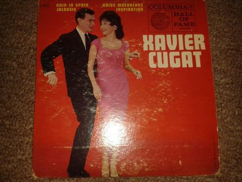 disco acetato 45 rpm de: xavier cugat