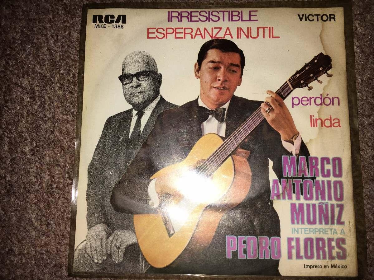 Disco Acetato 45 Rpm: Marco Antonio Muñiz -linda - $ 150.00 en ...