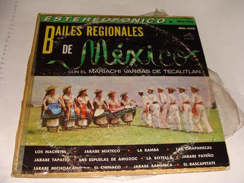 disco acetato bailes regionales de mexico con el mariachi va