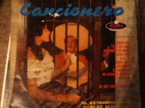 disco acetato: carlos madrigal