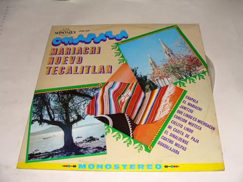 disco acetato chapala, mariachi nuevo tecalitlan