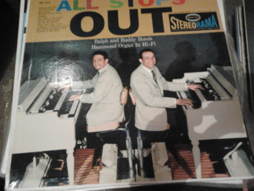 disco acetato de all stops out ralph and buddy bonds