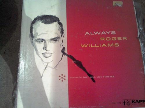 disco acetato de always roger williams