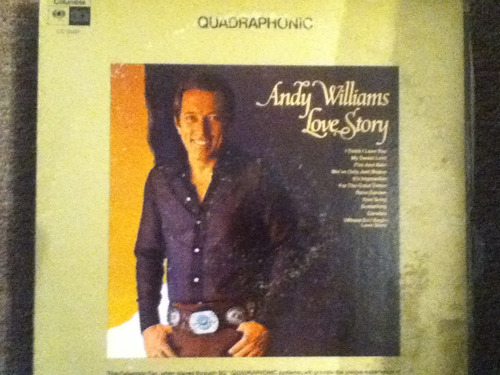 disco acetato de: andy williams - love story