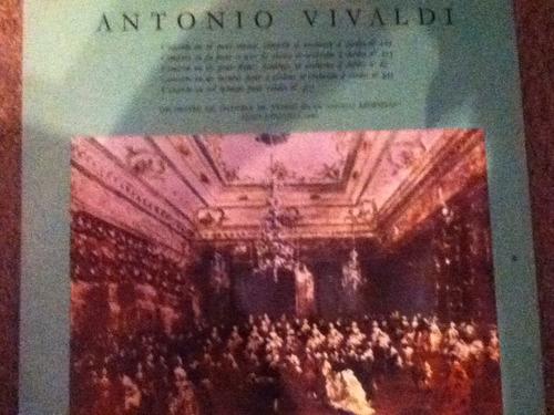 disco acetato de: antonio vivaldi