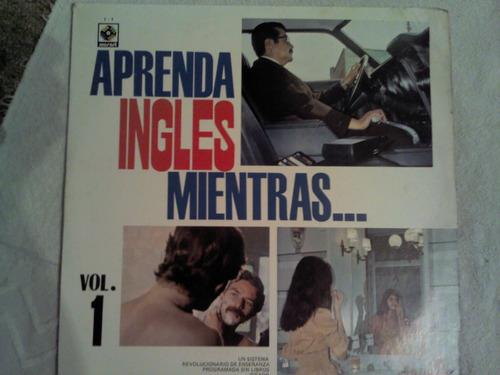 disco acetato de: aprenda ingles mientras?