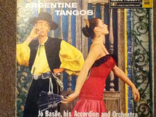 disco acetato de: argentine tangos