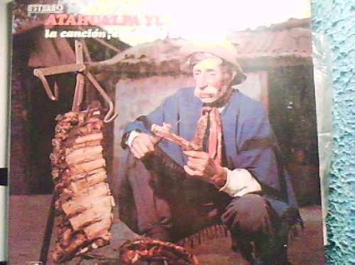 disco acetato de atahualpa yupanqui