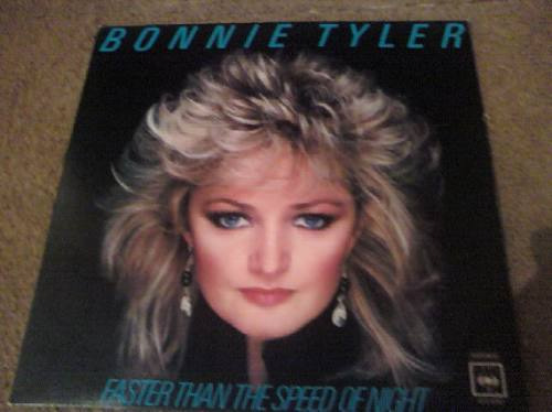 disco acetato de bonnie tyler  faster than the speed of nigh