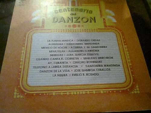 disco acetato de centenario del danzon