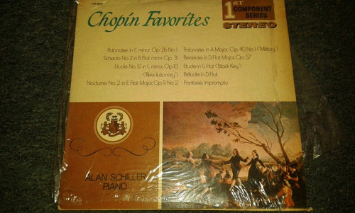 disco acetato de chopin favorites