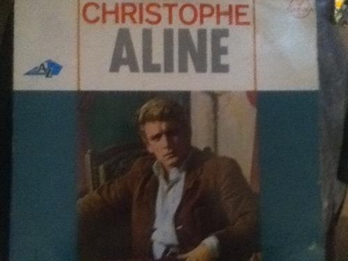 disco acetato de: christophe aline
