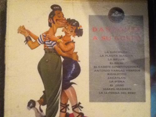 disco acetato de: danzones a su gusto