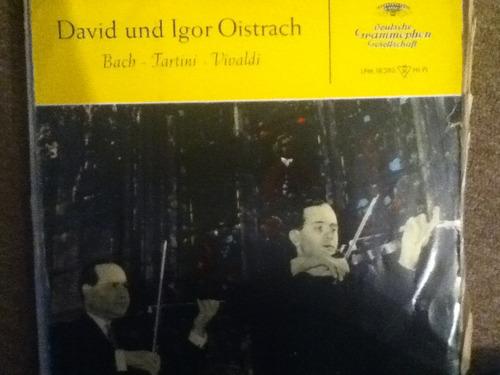 disco acetato de: david und igor oistrach