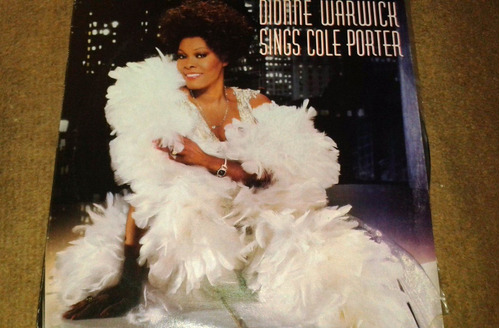 disco acetato de dionne warwick, sings cole porter